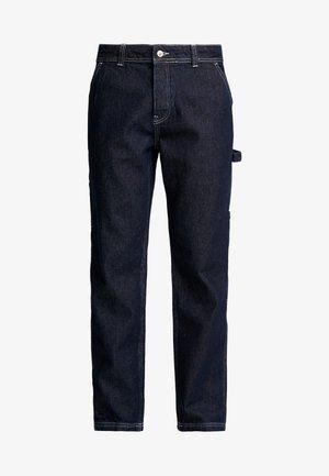 CONTRAST CARPENTER - Džíny Straight Fit - blue
