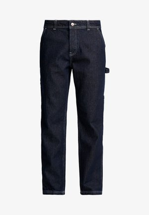 CONTRAST CARPENTER - Jeans straight leg - blue