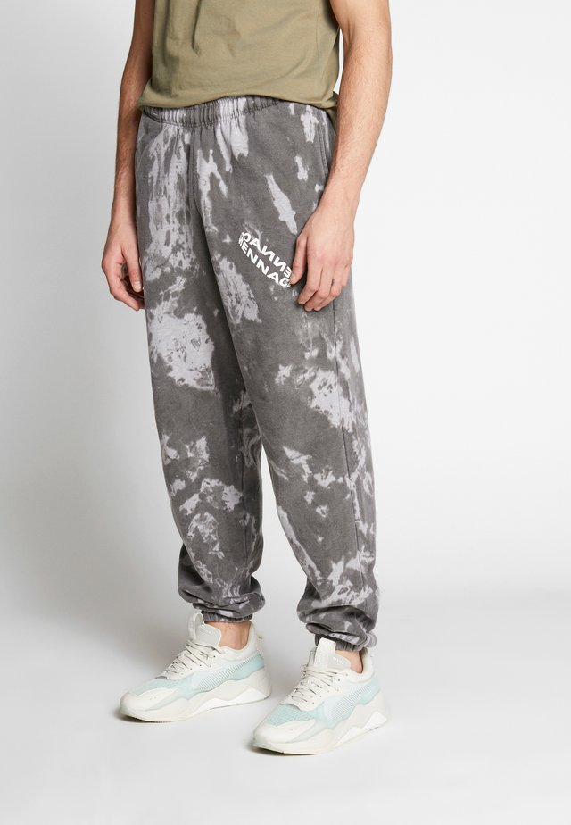 ROTATION TIE DYE JOGGER - Verryttelyhousut - washed black