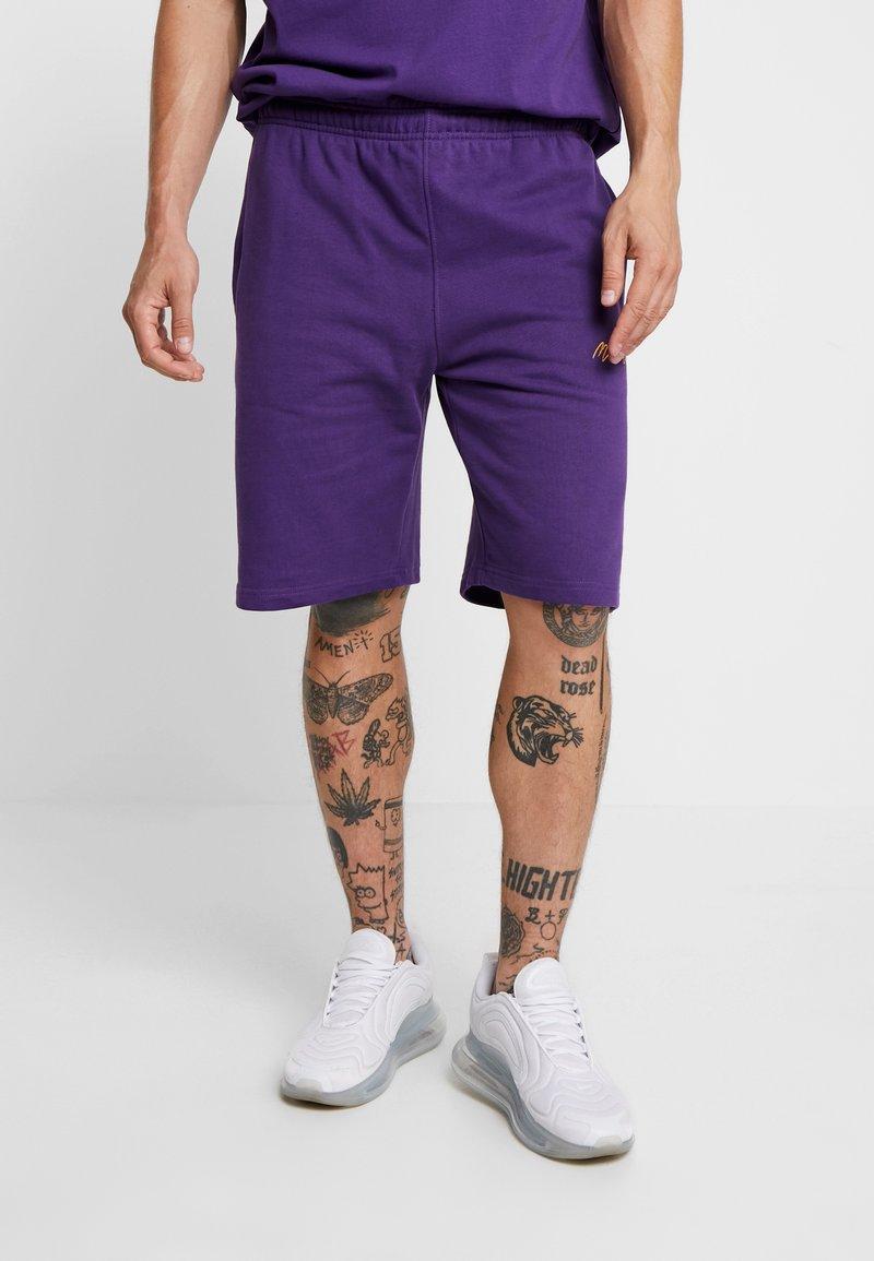 Mennace - SIGNATURE REGULAR  - Pantalones deportivos - purple