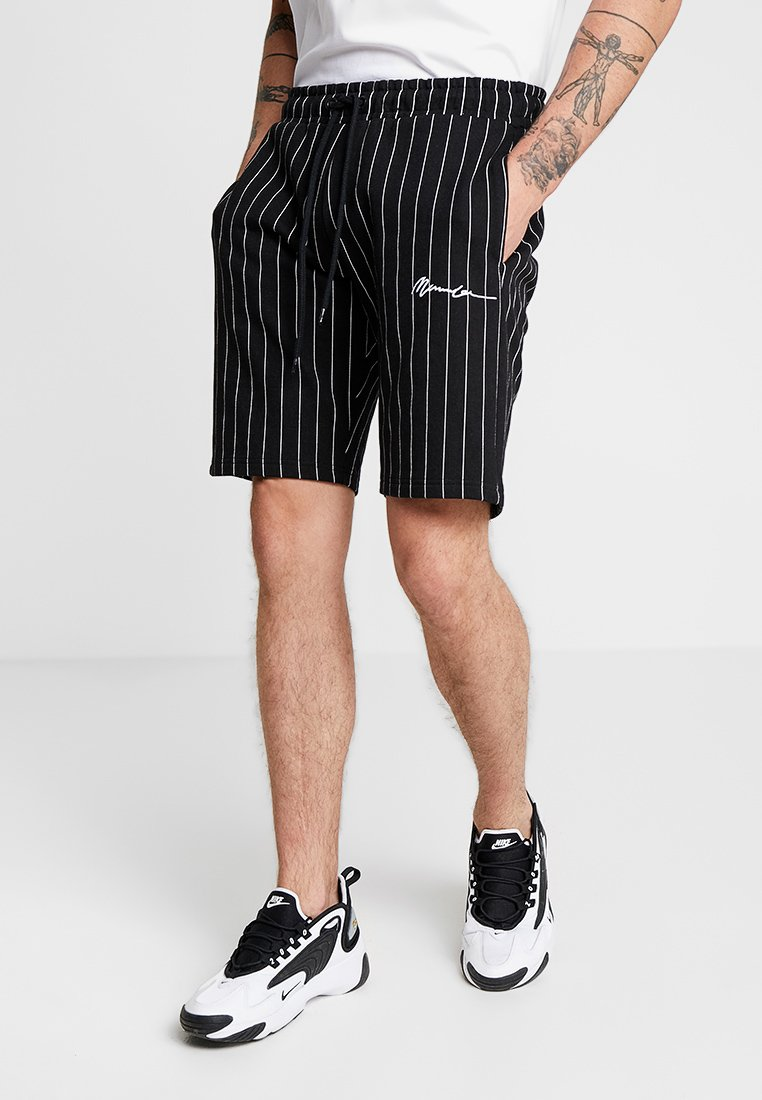 Mennace - PINSTRIPE - Jogginghose - black