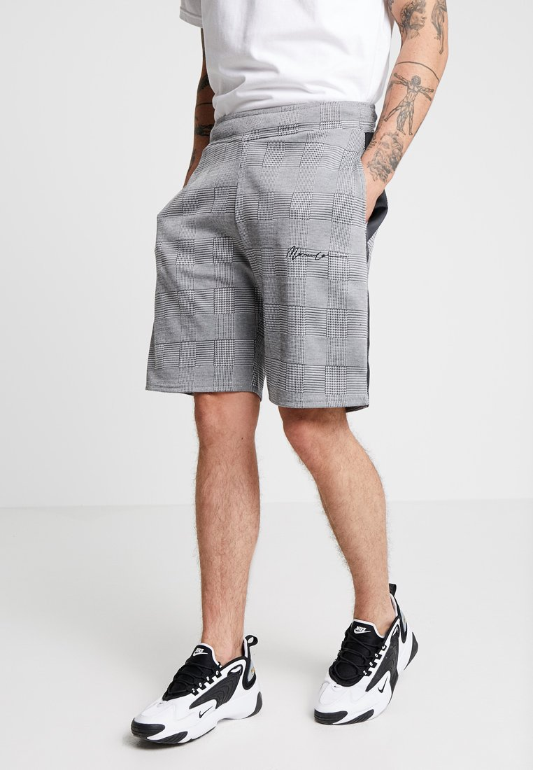 Mennace - POW CHECK  - Shorts - grey