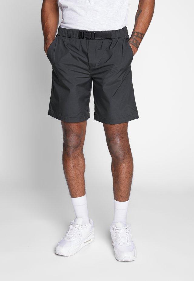 GROSSGRAIN BELTED PULL ON - Shorts - khaki