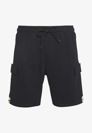 BRANDED MENNACE LIMITED SIDE TAPE - Shorts - black