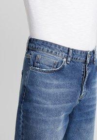 Mennace - GRIFFIN DAD  - Straight leg -farkut - mid blue - 3