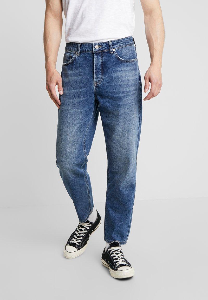 Mennace - GRIFFIN DAD  - Straight leg -farkut - mid blue