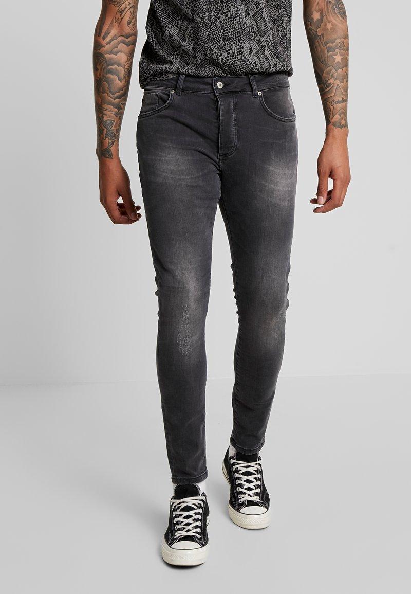 Mennace - STEWIE - Jeans Skinny - dark grey
