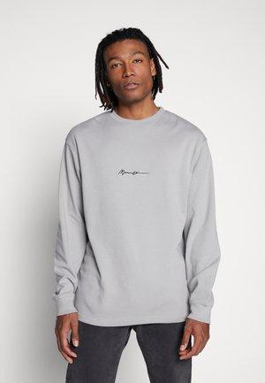 ESSENTIAL SIGNATURE TEE - Longsleeve - slate grey