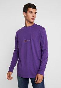 Mennace - ESSENTIAL SIGNATURE TEE - Long sleeved top - purple - 0