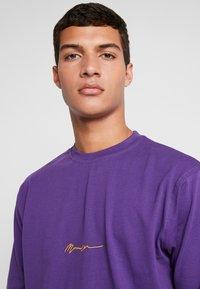 Mennace - ESSENTIAL SIGNATURE TEE - Long sleeved top - purple - 3