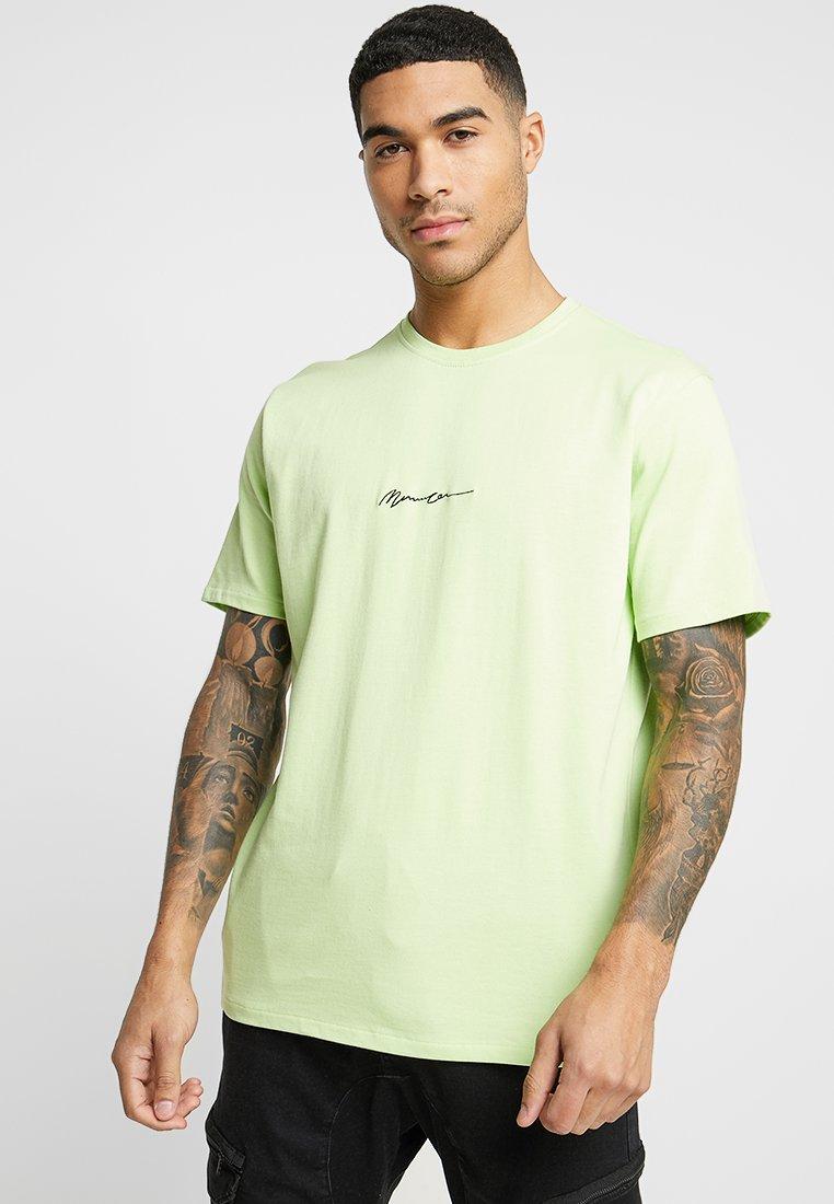 Mennace - MENNACE ESSENTIAL  - T-shirt basic - lime