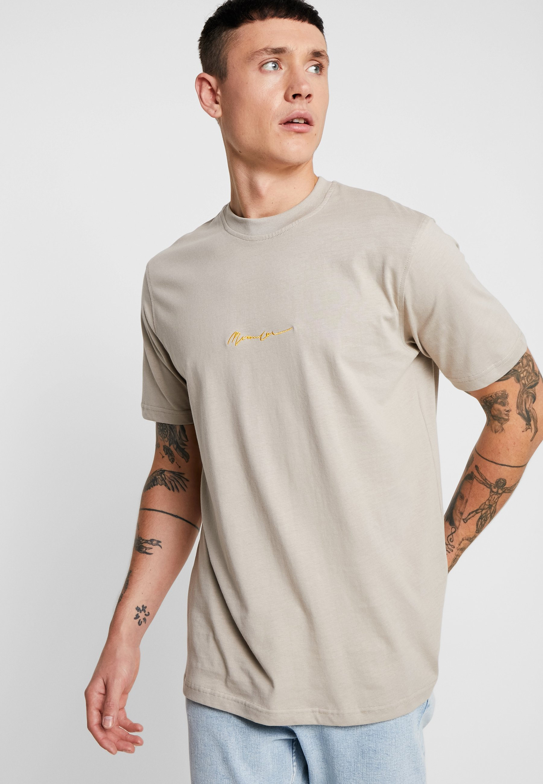 Mennace SIGNATURE - T-shirt basic - nude
