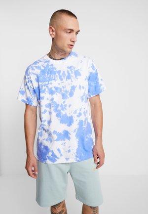 TIE DYE COME OUT - T-shirt imprimé - blue/purple