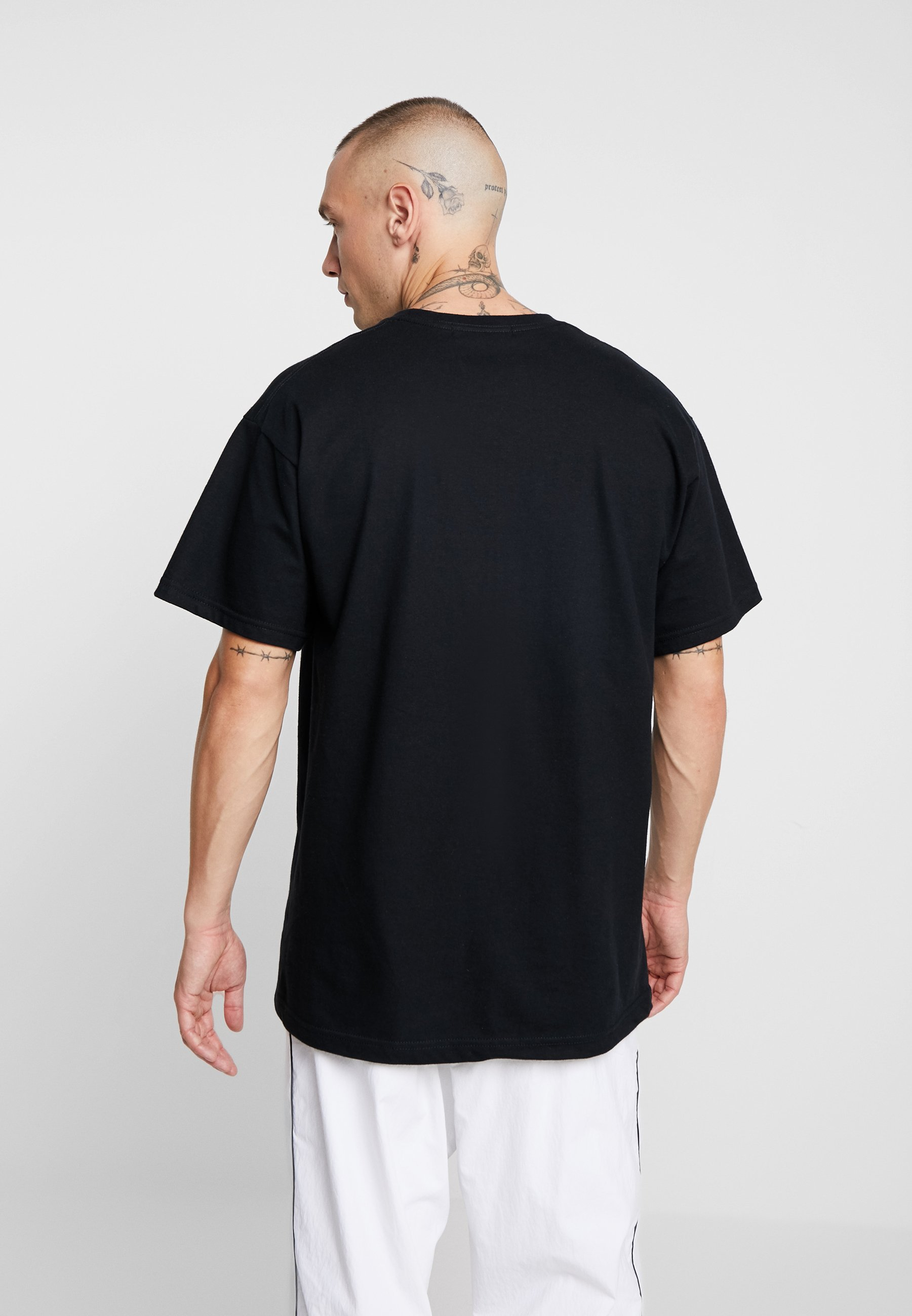 GraphicT Black shirt GraphicT Imprimé Mennace Mennace drexBoC