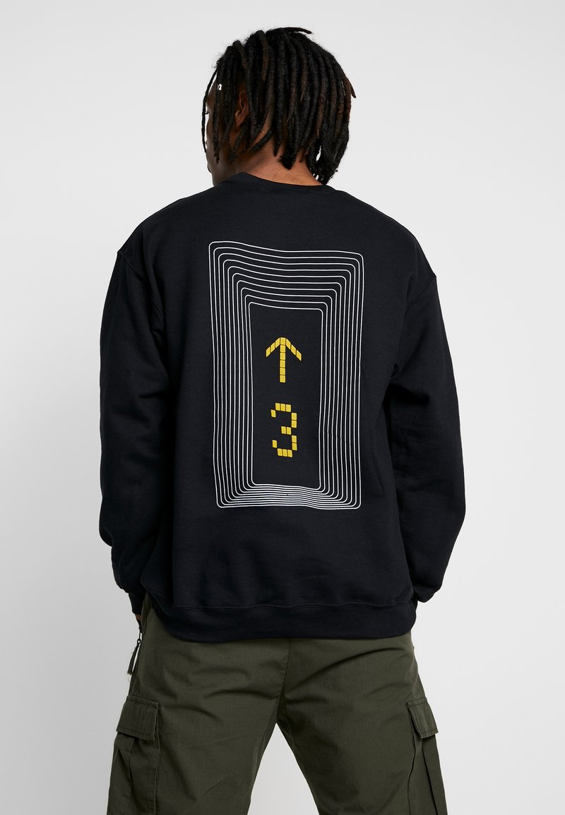 Mennace - LEVEL UP  - Sweatshirt - black