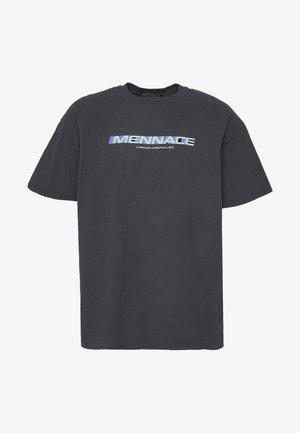 FADE - T-shirt con stampa - black
