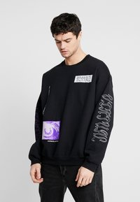 Mennace - REALITY  - Sudadera - black - 2