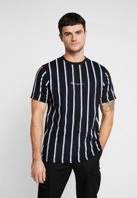 Mennace - STRIPE - T-shirt med print - black - 0