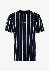 Mennace - STRIPE - T-shirt med print - black - 3