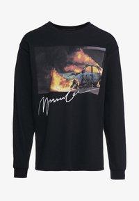Mennace - BURNING CAR - Longsleeve - black - 4