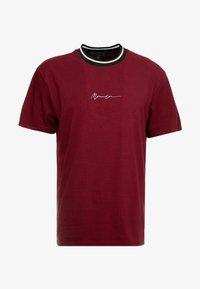 Mennace - RINGER  - Camiseta básica - burg - 4