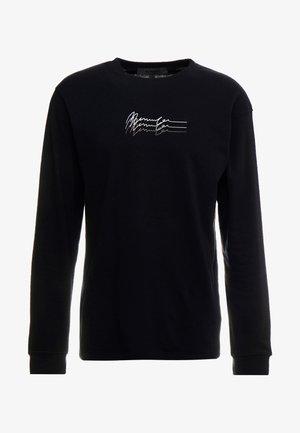 TRIPLE LONG SLEEEVE - Pitkähihainen paita - black