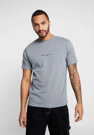 ESSENTIAL SIGNATURE  - Camiseta básica - teal