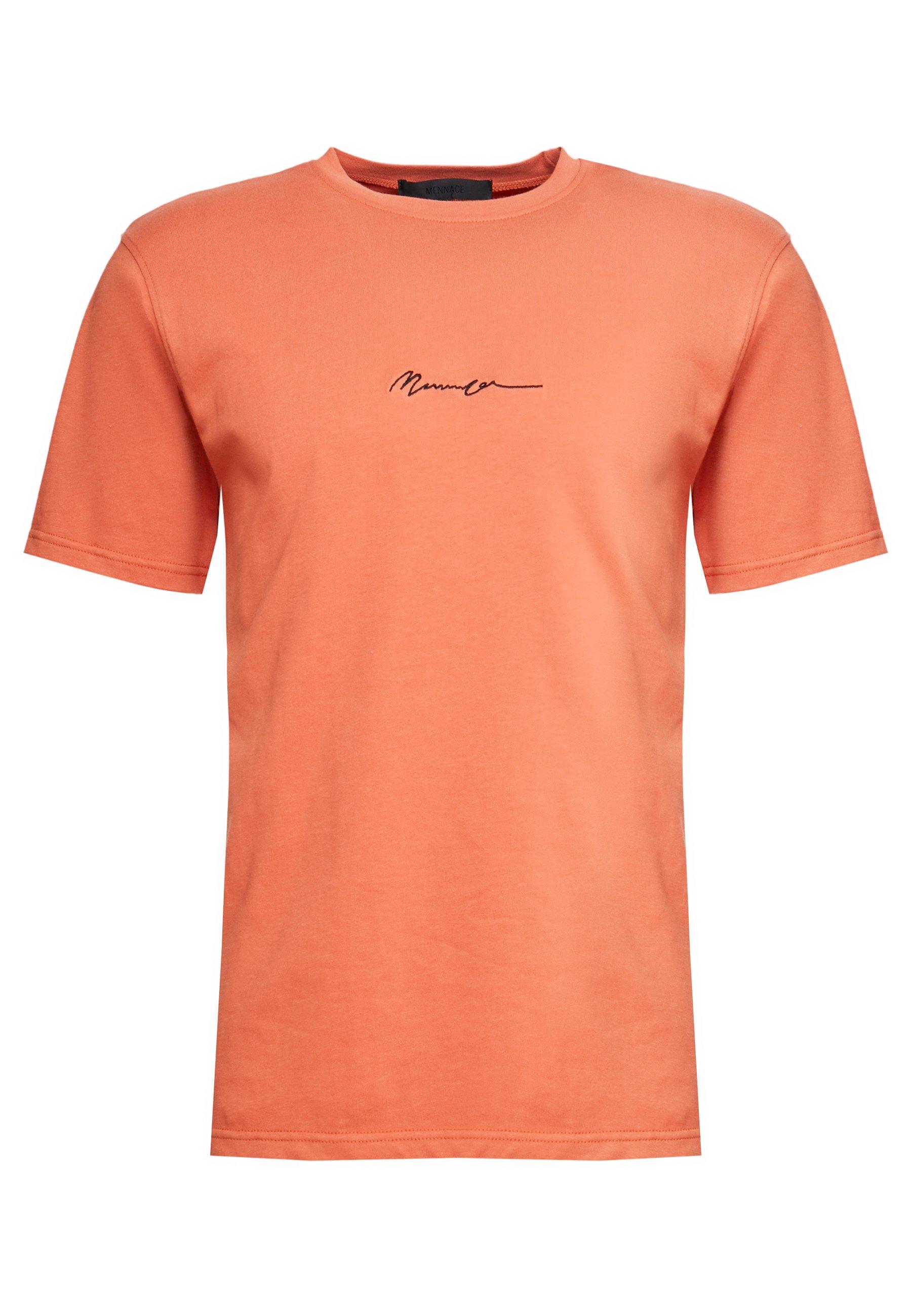 Mennace ESSENTIAL SIGNATURE - T-shirt basic - orange