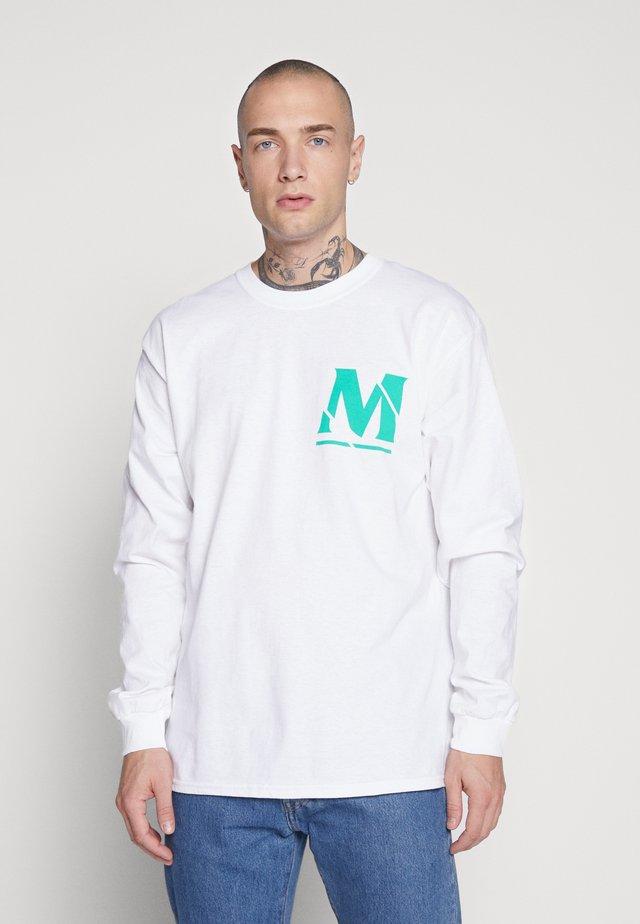 MENNACE SPHERE - Print T-shirt - white