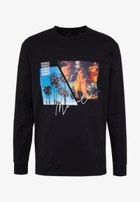 Mennace - BURNING PARADISE  - Långärmad tröja - black - 3