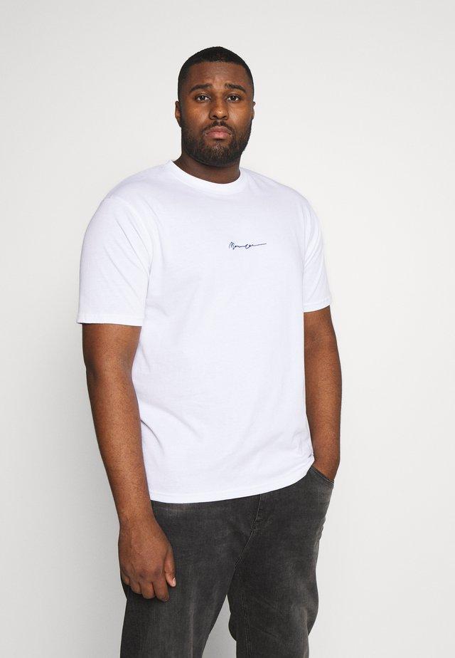 ESSENTIAL PLUS - T-shirts basic - white