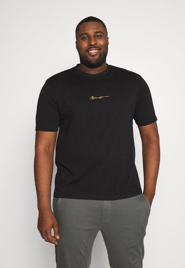 ESSENTIAL PLUS - T-shirts basic - black