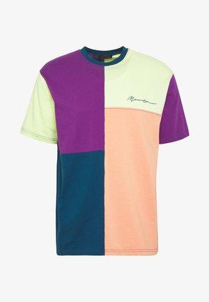 SPLICED PATCHWORK  - T-shirt print - multi-coloured