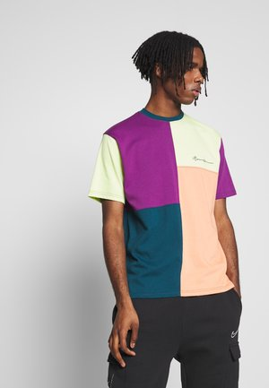 SPLICED PATCHWORK  - T-shirt print - multi-coloured