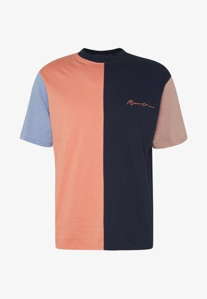 VERTICAL PANELLED - T-shirt z nadrukiem - multi-coloured