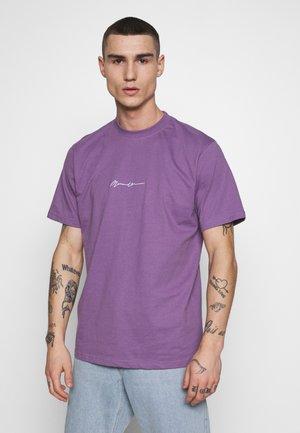 ESSENTIAL SIGNATURE  - T-shirt basic - lilac