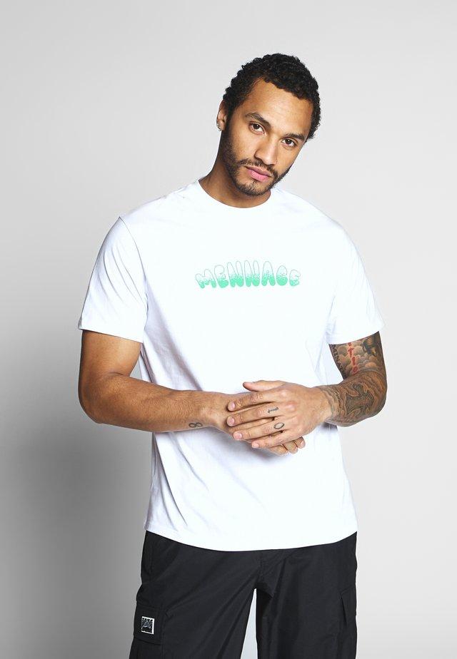 MUG MAN TEE - T-shirt print - white