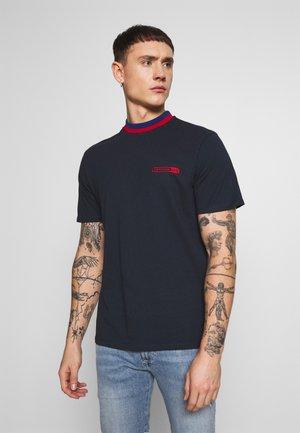 MENNACE CHUNKY RINGER - Basic T-shirt - navy