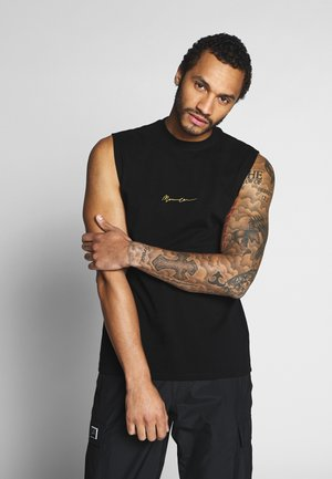 ESSENTIAL SIGNATURE VEST - Débardeur - black