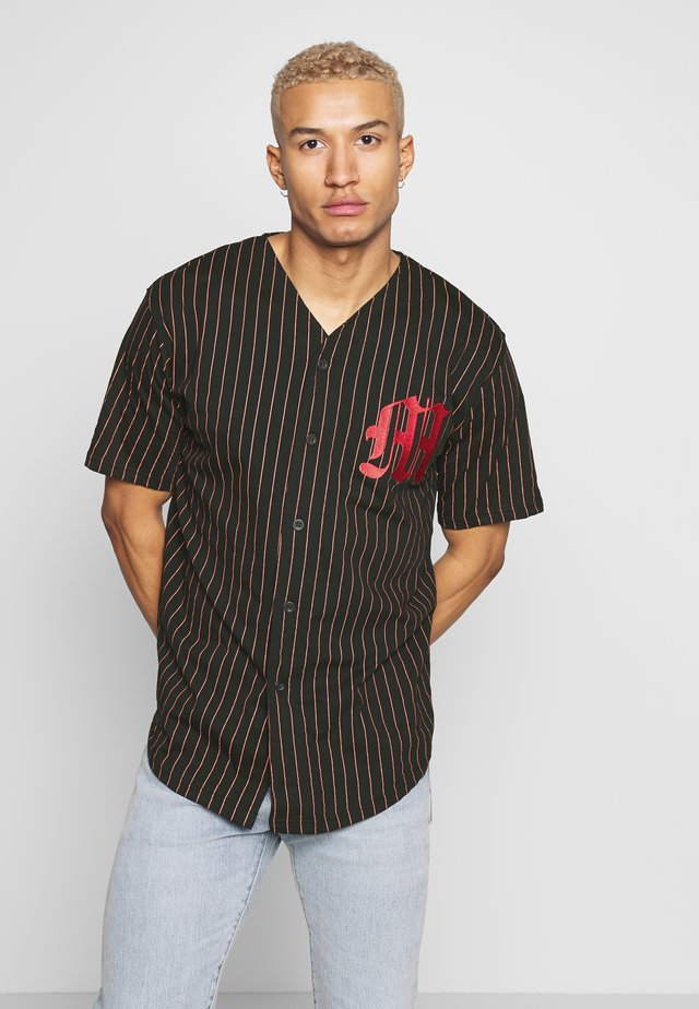 STRIPE BASEBALL  - T-shirt imprimé - black