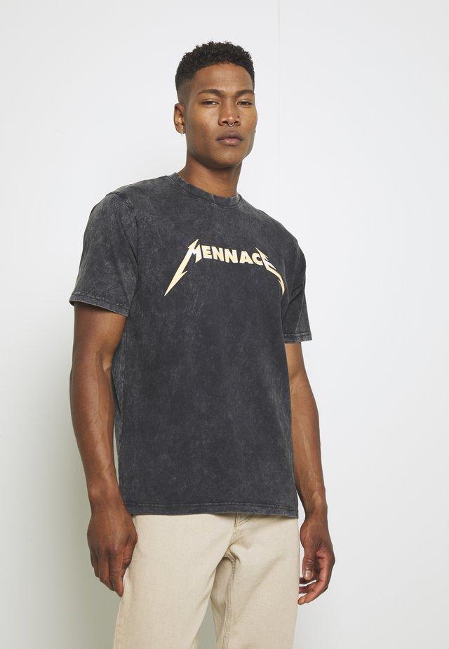 TOUR 94 - T-shirt con stampa - black