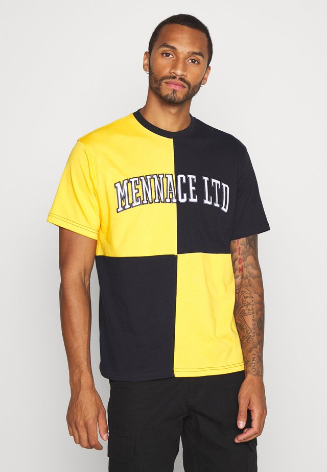 QUARTER PANEL - T-shirts med print - yellow