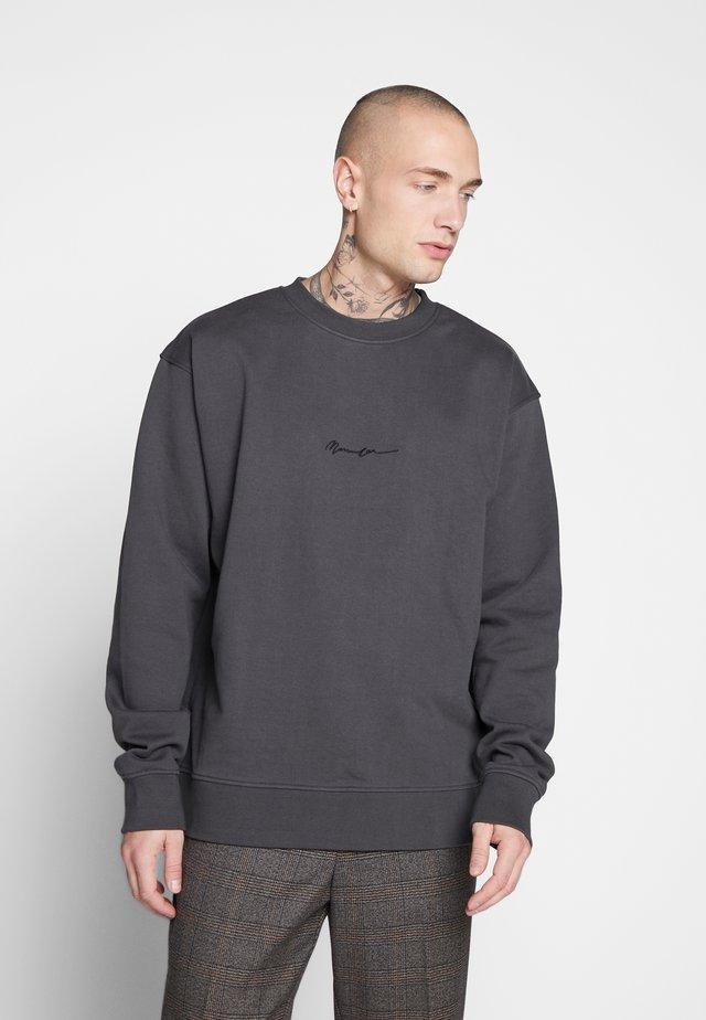 ESSENTIAL REGULAR SIGNATURE - Sweatshirt - charcoal
