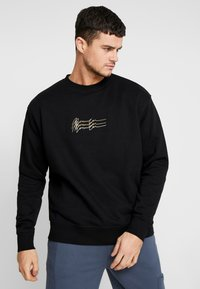 Mennace - TRIPLE SIGNATURE  - Sweatshirt - black - 0