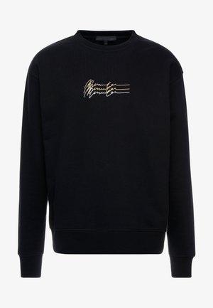 TRIPLE SIGNATURE  - Sweatshirt - black