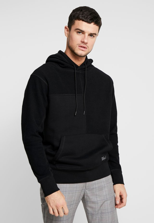 UNISEX CUT AND SEW HOODY - Huppari - black