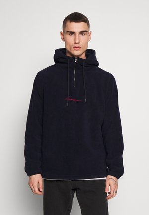 POLAR HOODY - Sweat à capuche - navy