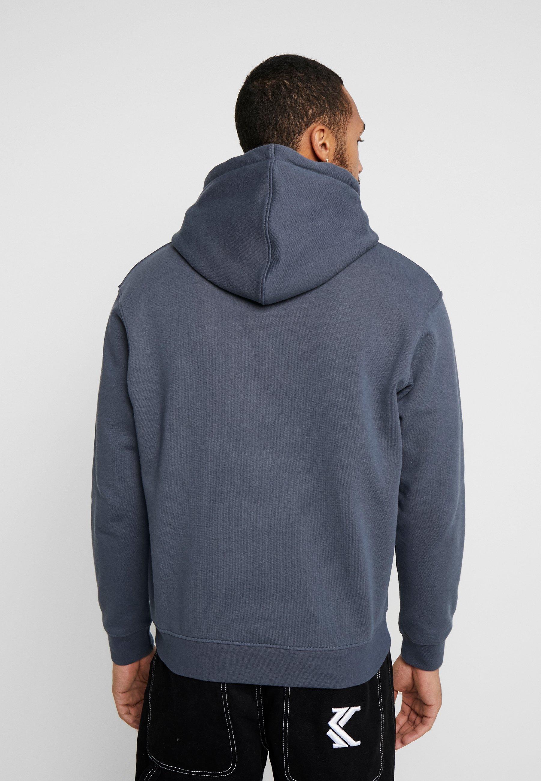 Mennace ESSENTIAL SIGNATURE REGULAR HOODIE - Jersey con capucha - indigo