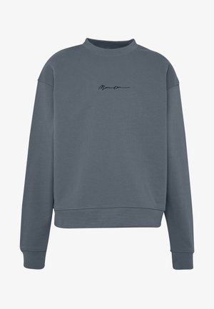 ESSENTIAL SIGNATURE BOXY - Sweatshirt - teal