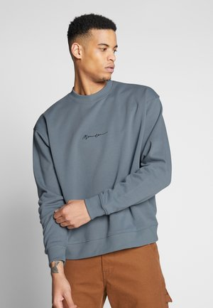 ESSENTIAL SIGNATURE BOXY - Sweatshirt - teal